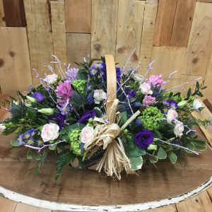 Trug Basket - Louises Florists